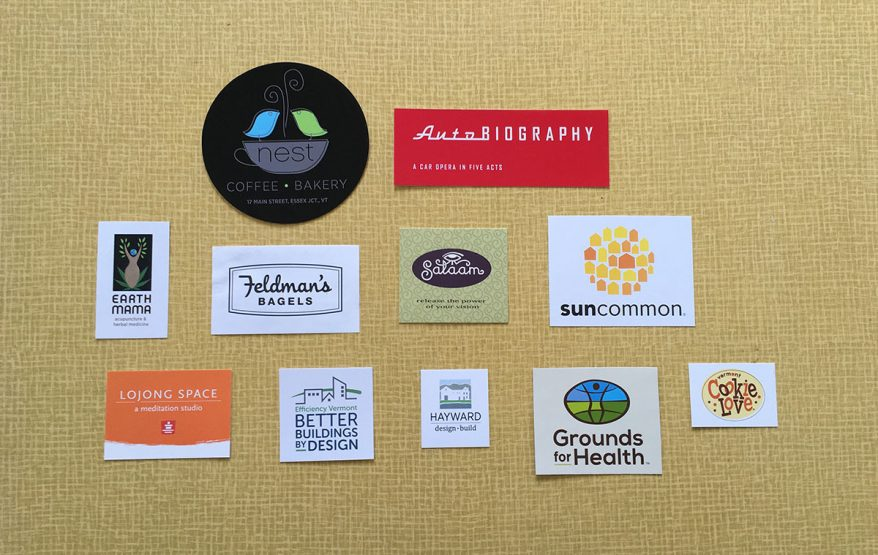 Some of the logos we've designed